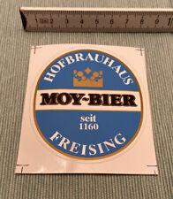 Aufkleber MOY-BIER Hofbrauhaus Freising seit 1160 Autocollant