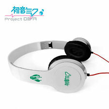 Anime Hatsune Miku White Headphone Headset Earphone Logo Emblem New in Box B