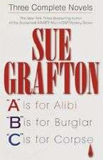 Complete Set Series - Lot of 26 Kinsey Millhone books by Sue Grafton A-Y, & Me
