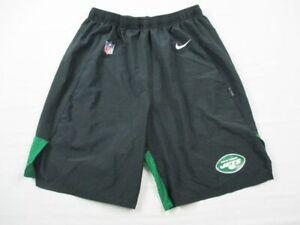 New York Jets Nike Shorts Men's Black Dri-Fit Used Multiple Sizes