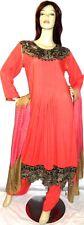 Shalwar kameez eid pakistani designer salwar sari abaya hijab peach suit uk 16