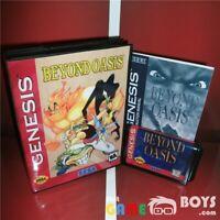 Beyond Oasis Game Cartridge for SEGA Genesis Complete Boxed Manual USA NTSC-U/C