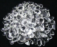WHOLESALE LOT NATURAL WHITE CRYSTAL QUARTZ CABOCHON LOOSE GEMSTONE
