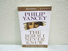1998 The Jesus I Never Knew Participant's Guide by Philip Yancey Paperback Book