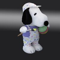 Peanuts Plush Easter Porch Greeter 20 inches Tall Snoopy