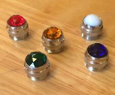 AMBER RED GREEN WHITE BLUE faceted lens dash light DIALCO Mix-n-Match