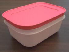 Tupperware G 34 Eiskristall gefrierbehälter 450 ML blanc/rose neuf emballage d'origine