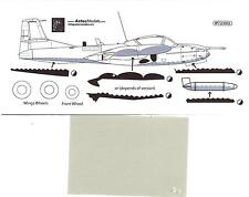 Aztec Decals 1/72 A-37B DRAGONFLY Underside for Colombian Version Paint Mask Set
