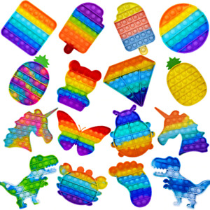 Jouet Anti Stress Fidget Bubble Push Main Pop Enfant Kids Toy Sensoriel Classe