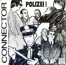 7inch CONNECTOR polizei HOLLAND 1988 EX+  +PS RED BULLET REC.