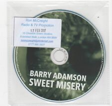 (HV189) Barry Adamson, Sweet Misery - 2017 DJ CD