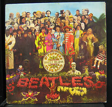 The Beatles - Sgt Pepper's Lonely Hearts Club Band LP VG PMC 7027 France Mono