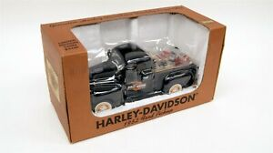 HARLEY-DAVIDSON Ltd Ed Diecast Replica 1952 Ford Pickup Coin Bank w Orig. Box