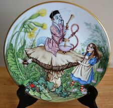 Georges Boyer Limoges Alice In Wonderland Plate With Coa - 1981