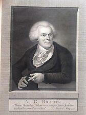 Germania  August Gottlieb Richter  MEDICO CHIRURGO