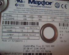 Hard Disk Drive IDE Maxtor 5T020H2 22A 05A 13A DiamondMax Plus 60 20GB