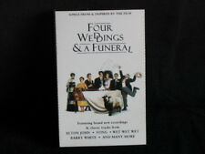 FOUR WEDDINGS AND A FUNERAL Soundtrack Cassette Tape