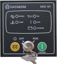DATAKOM DKG-151 Panel de control del generador de arranque manual