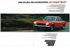 PUBLICITE  1969   FIAT 124 COUPE SPORT    ( 2 pages)