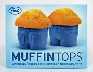 Genuine Fred - Muffin Tops Silicone Baking Cups (4pcs)