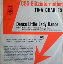 "7"" 1976 CBS BLITZ! TINA CHARLES Dance Little Lady Dance"