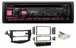 ALPINE CD Receiver Stereo Android/MP3/WMA/USB/AUX For 06-12 Toyota Rav4