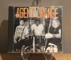 Agent Orange - Living In Darkness CD Surf Punk