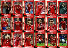 Liverpool 2012 Football League Cup final winners trading cards