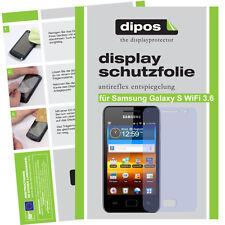 2x Samsung Galaxy S WiFi 3.6 Schutzfolie matt Displayschutzfolie Antireflex