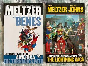Justice League of America by Brad Meltzer & Ed Benes TPB Vol 1-2. Tornado's Path