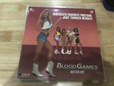 Blood Games (Laserdisc) ACTION HORROR - SUPER RARE