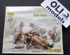 1/72 British Medical Personnel 1939-1942 FIGURES SET Art of Tactic - Zvezda 6228