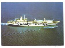 cd0360 - Geest Line Cargo Ship - Geestbay , built 1981 - postcard