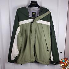 VANS Technical Snowboard Ski Cool Weather lightweight Jacket Green/White - Large