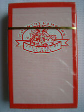 Country Hampers Deck of playing cards The Symbol of Quality Sealed