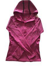 Nike Dri-fit Pink Ladies Hooded Top Small