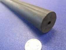 "Neoprene Tube Black 75A 1 1/4"" OD x 1/4"" ID x 1/2"" Wall x 36"" Length"