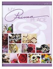 PRIMA FLOWERS MAGAZINE IDEA BOOK 30 PAGES with Freebies  ART-ZINE VOL 2  (2012)