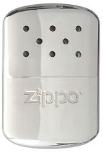 Zippo 12 Hour Refillable POLISHED CHROME Hand Warmer 40182 40306 40307 40323 NEW