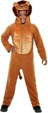 Boy's Girl's Child's Lion Fancy Dress Costume Nursery Book Day Animal All in One