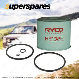 Ryco Fuel Filter for Seat Ibiza 4CYL 1.7 Diesel 03/1984-11/1993 CAV
