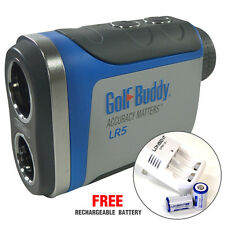GolfBuddy LR5 Rangefinder GB10-LR5 Golf Buddy NEW [Free Rechargeable Battery]
