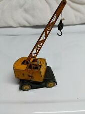 Dinky Supertoys Coles Mobile Crane Yellow Made in England Crane and Hook Work