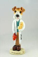 Veterinarian~ Wire Fox Terrier -See Interchangeable Breeds & Bodies @ Ebay Store