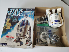 1977 Star Wars The Authentic R2-D2 MPC Scale Model Kit with Box and Instructions