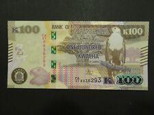 Sambia Banknote 100 Kwacha 2021 kassenfrisch (UNC)