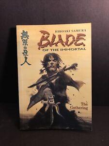 Blade Of The Immortal The Gathering English Manga Hiroaki Samura Dark Horse