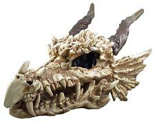 Riesiger Drachenschädel Dragon Skull 77 cm Poly Drache Totenkopf Giant
