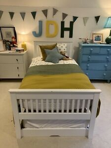 John Lewis Riley Guest Bed with Trundle Bed  Single