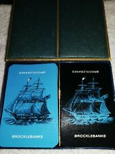 TWO Decks of playing cards in a lot    BROCKLEBANKS